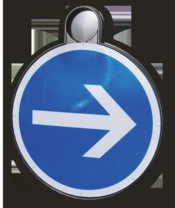 panneau signalisation thermoforme